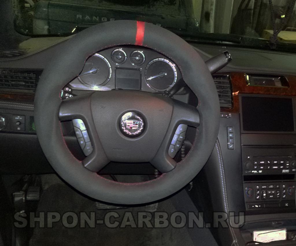 Анатомия руля + перетяжка руля в алькантару Cadillac Escalade (Кадиллак Эскалейд)