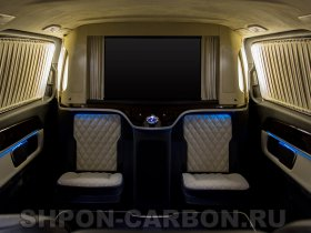 Установка комфортабельного дивана в автомобиль Mercedes-Benz V-Class, Мерседес-Бенц В класс