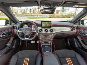 отделка карбоном, углетканью, Mercedes-Benz CLA, Мерседес-Бенц Цла