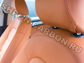 Перетяжка салона автомобиля кожей и алькантарой Ауди А5