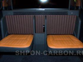 Изготовление салонной перегородки в автомобиль Mercedes-Benz V250, Мерседес-Бенц В250