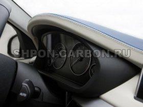 Перетяжка салона автомобиля кожей и алькантарой Бмв Х5 Альпайн